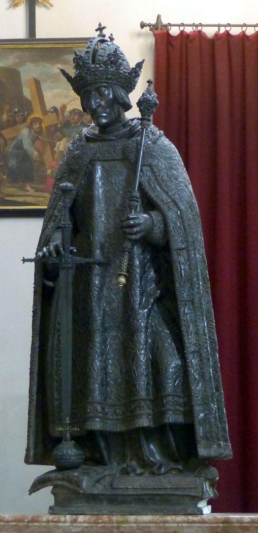 Friedrich III. (Innsbruck) Frontalansicht
