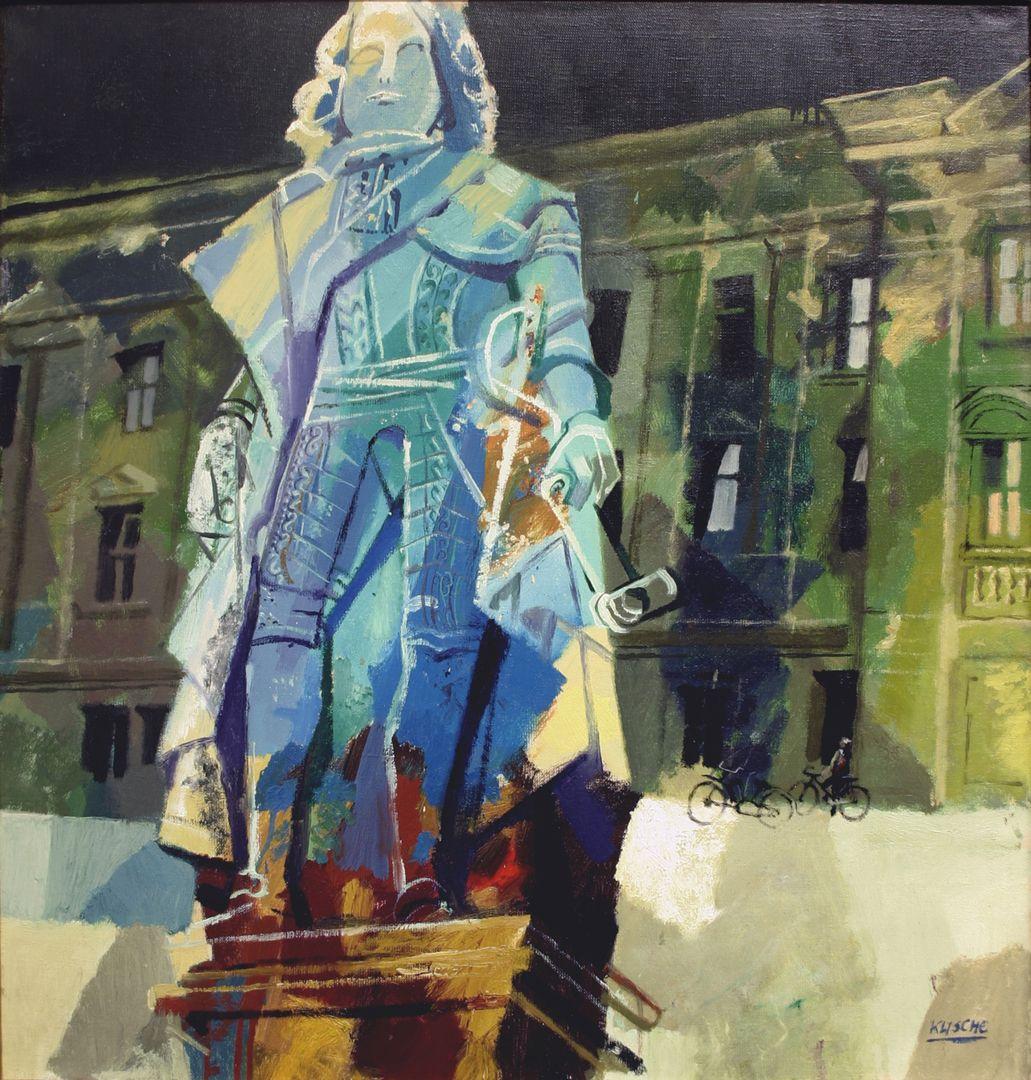 Statue Markgraf Friedrichs von Brandenburg-Bayreuth