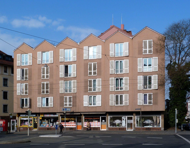 Wohn- und Geschäftshaus Fassade am Neutorgraben