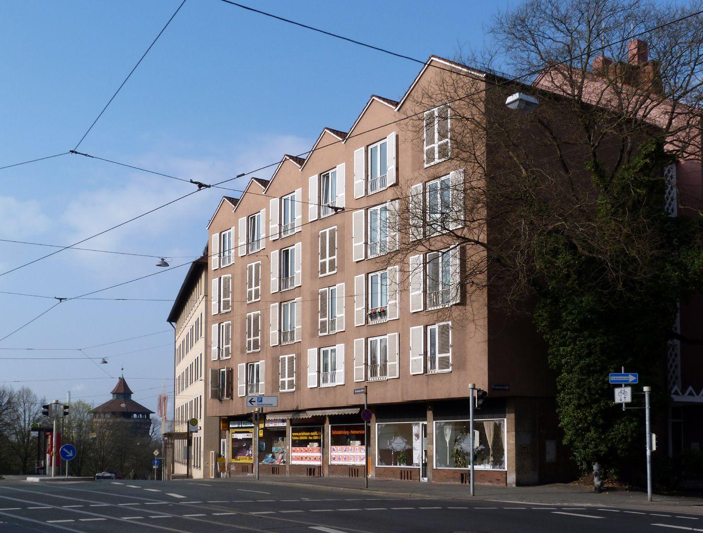 Wohn- und Geschäftshaus Ecke Neutorgraben Frommannstraße