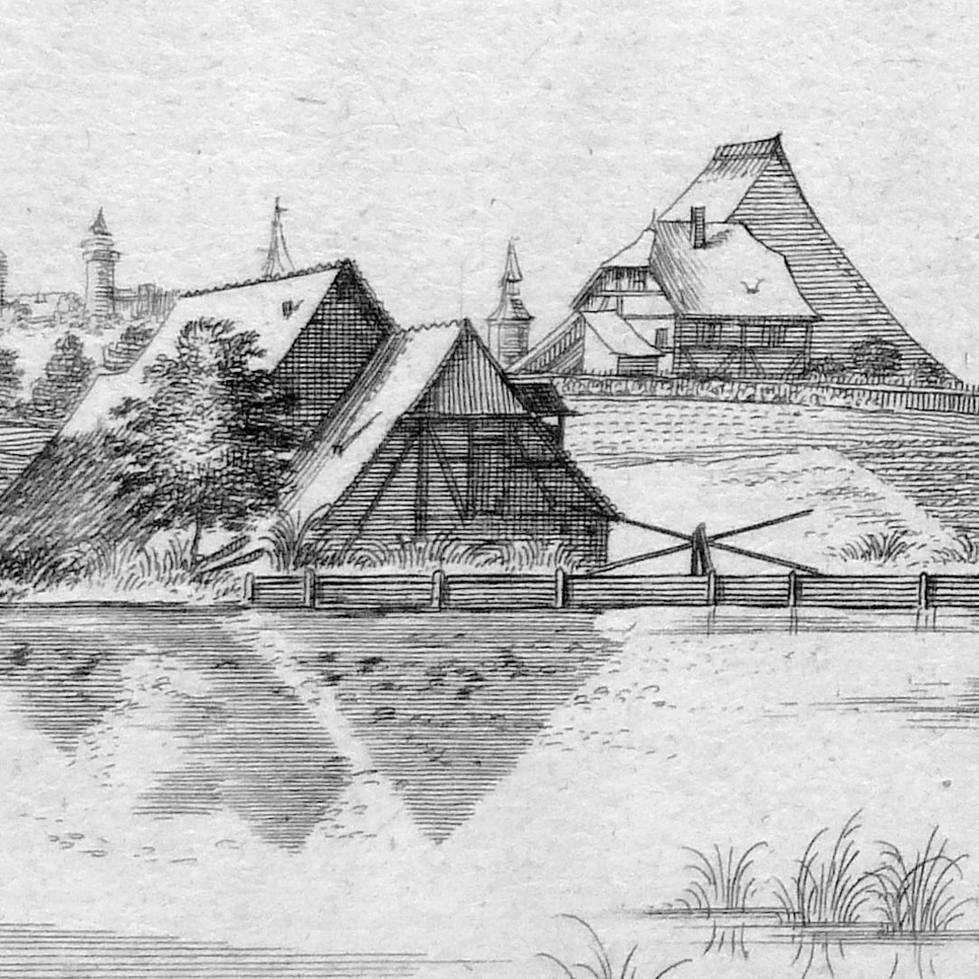 Die Tulen=Au, Zwischen Wörth und St. Peter Detail