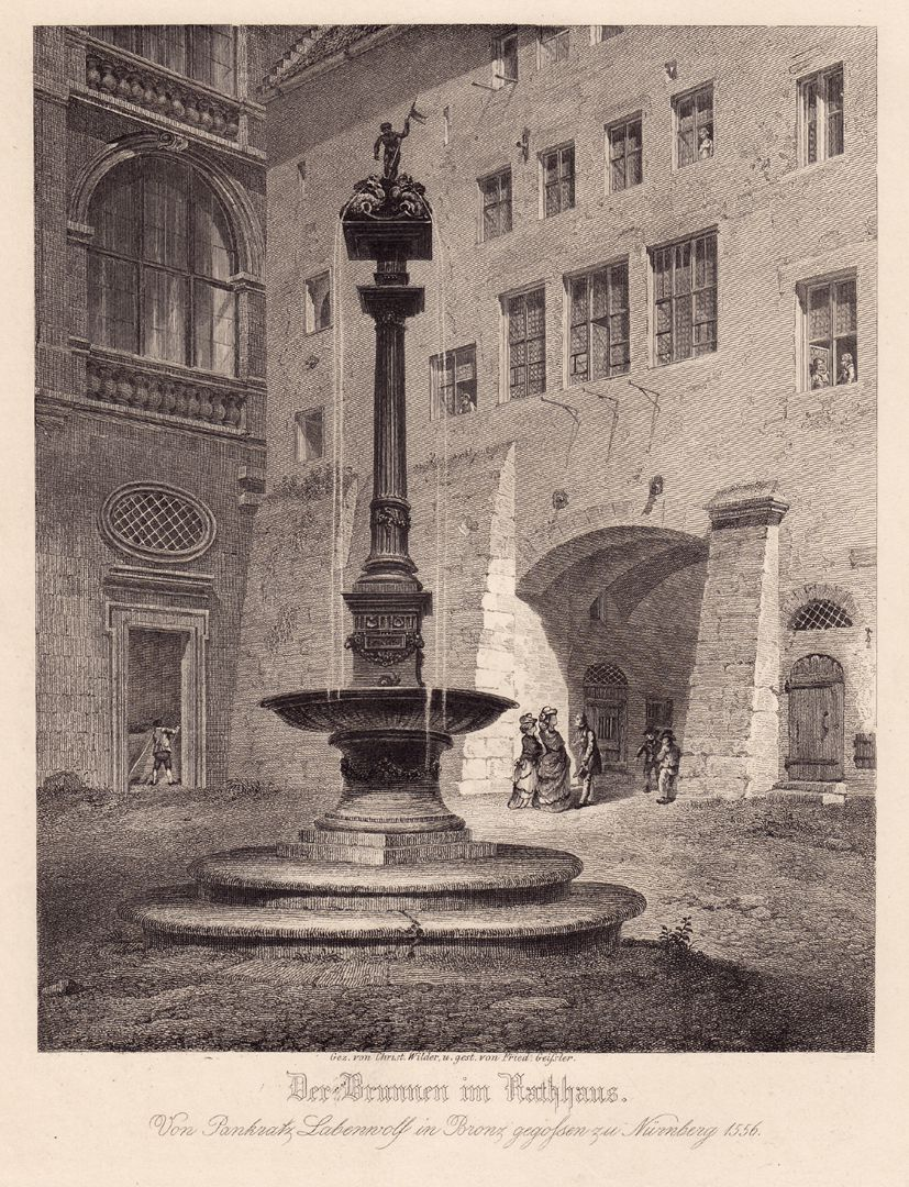 """Der Brunnen im Rathaus"" ""Der Brunnen im Rathaus"""