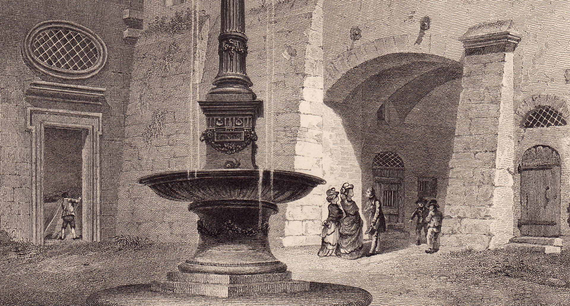 """""""Der Brunnen im Rathaus"""" Detail"""