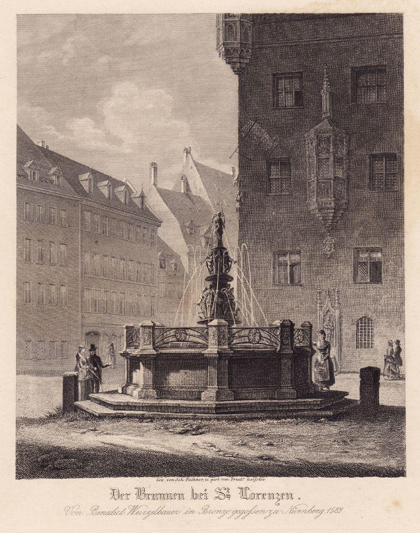 """Brunnen bei St. Lorenz"" ""Brunnen bei St. Lorenz"""