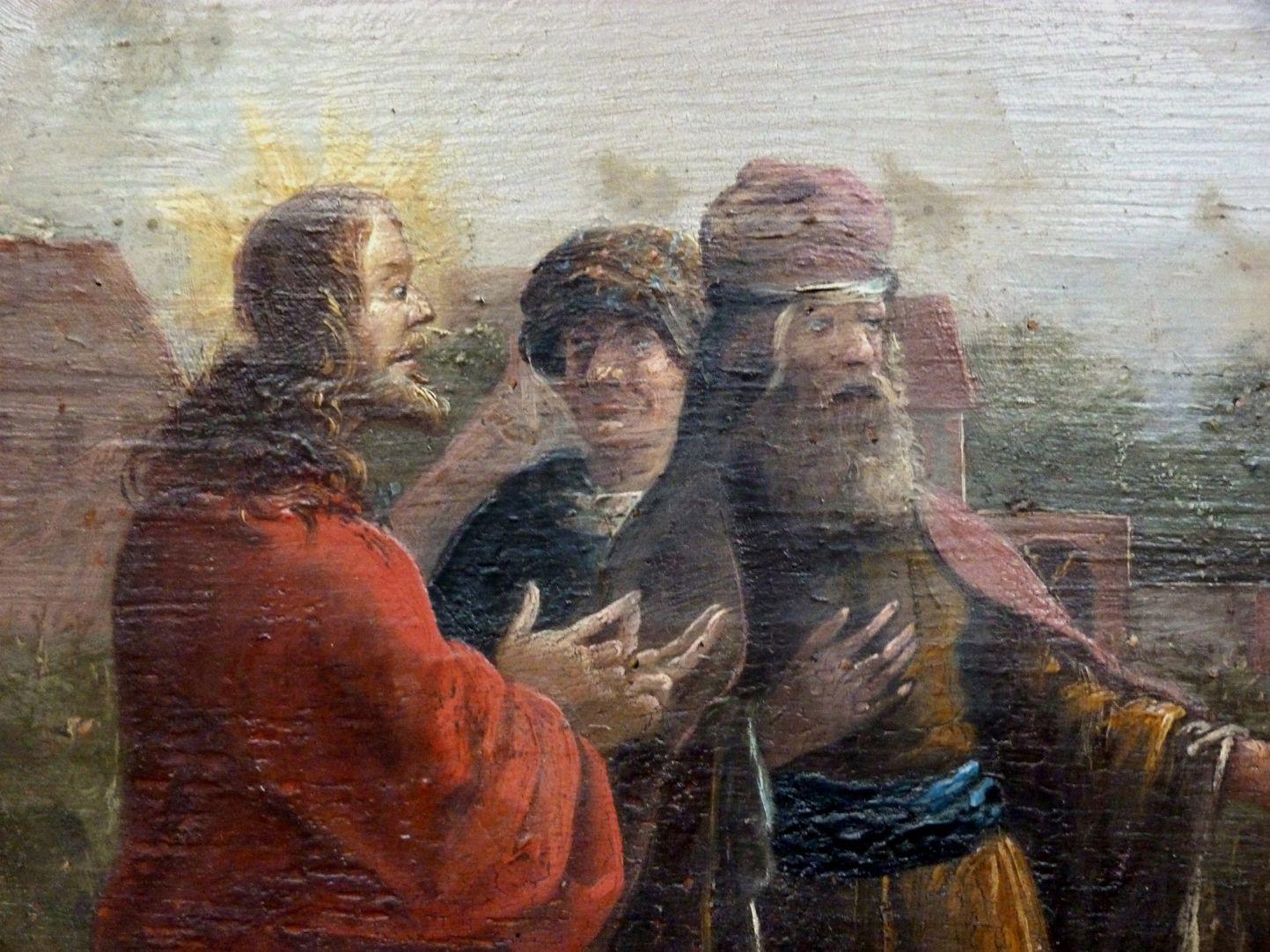 """""""Die Jünger raufen am Sabbath Ähren aus"""" Christus im Gespräch mit dem Hohen Priester"""