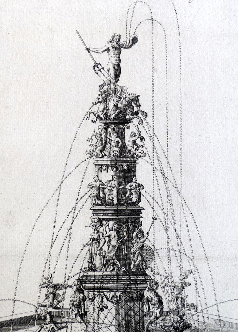 Neptunbrunnen Brunnensäule