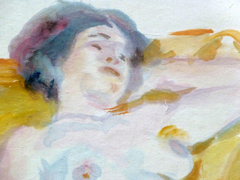 Weiblicher Akt Detail