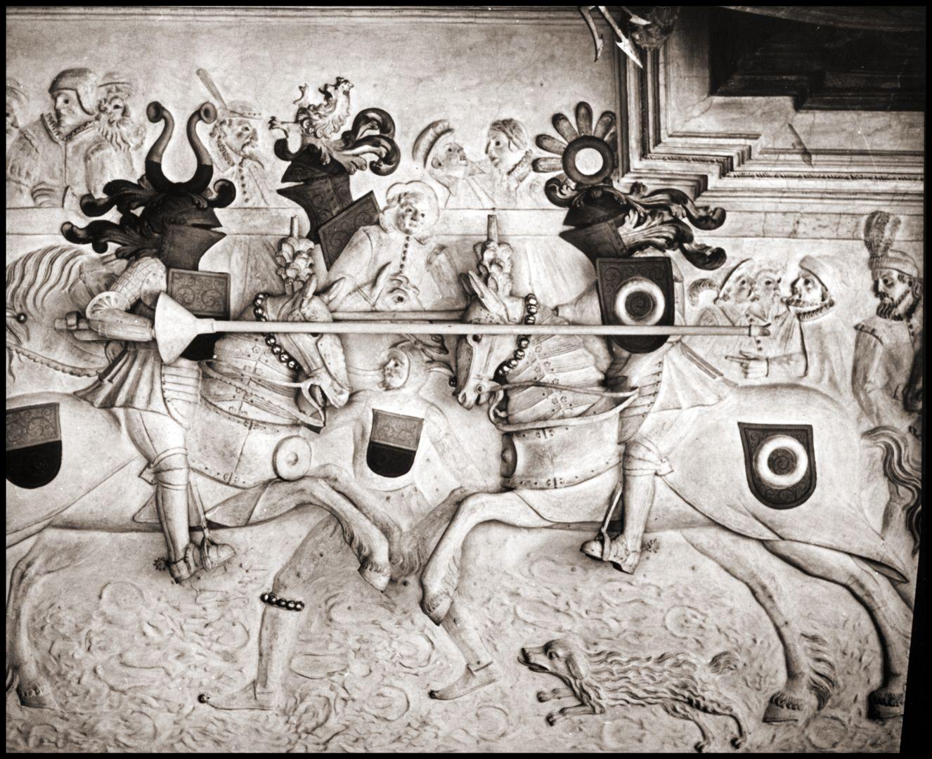 Gesellenstechen Aufnahme aus dem Jahr 1927