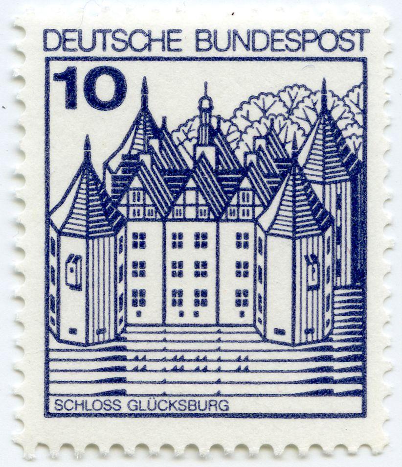 Schloss Glücksburg Gesamtansicht