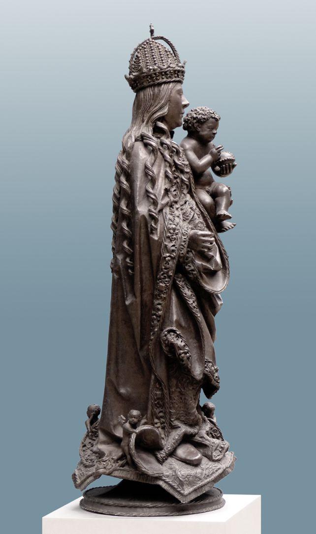 Maria mit dem Kinde rechtes Profil
