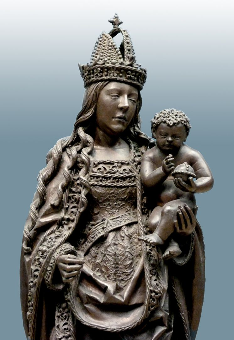 Maria mit dem Kinde Oberkörper