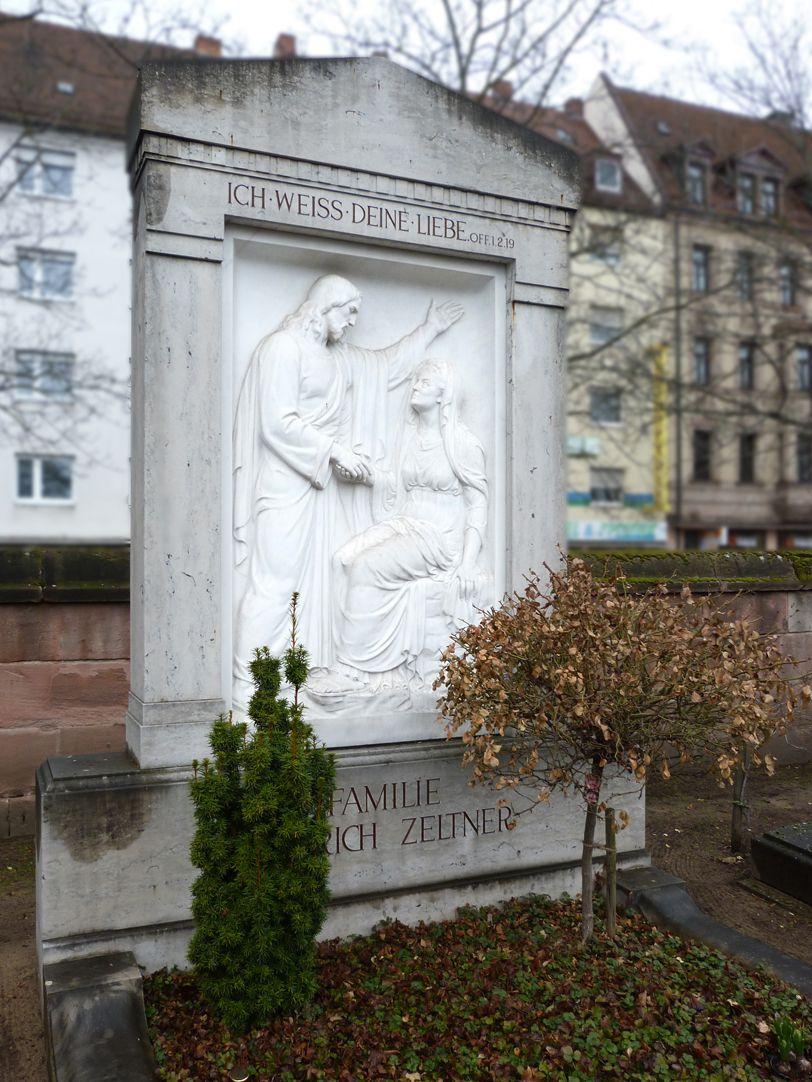 Grabmal Familie Heinrich Zeltner