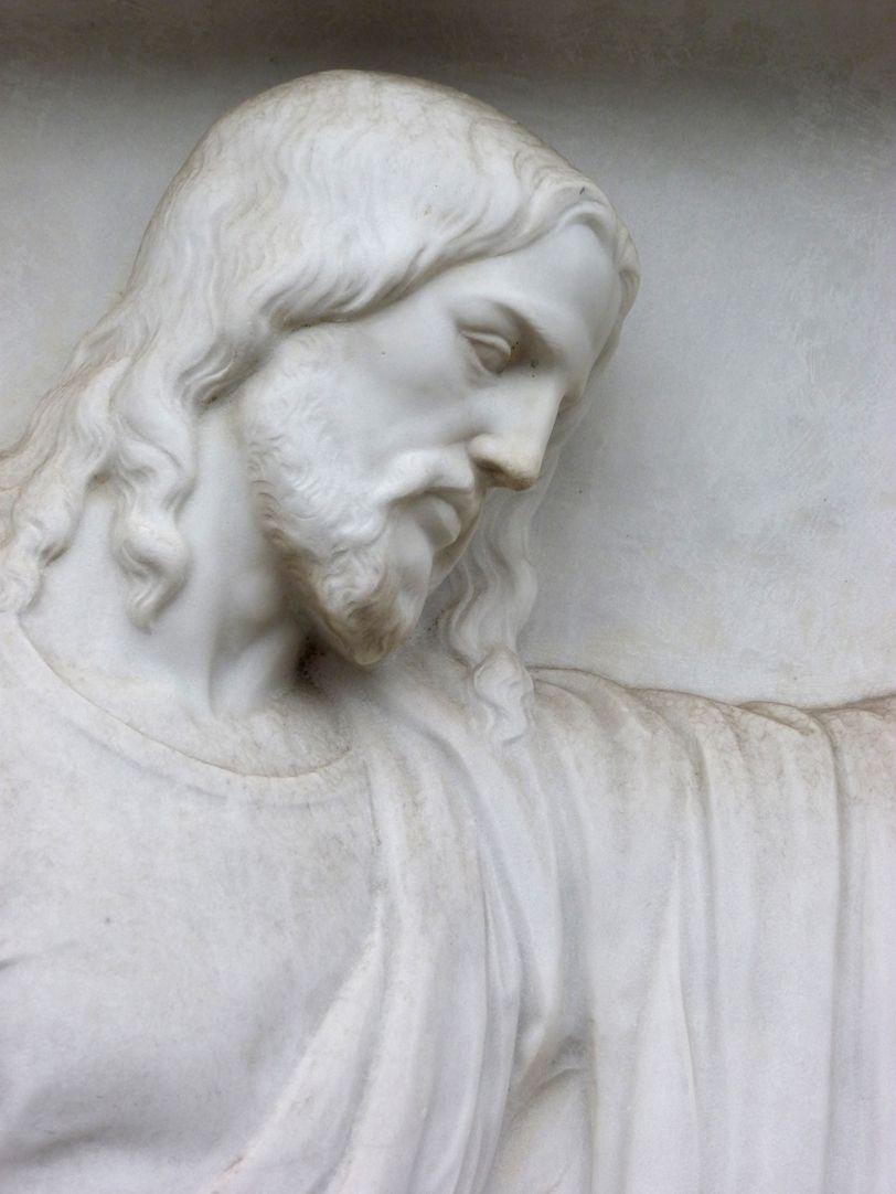 Grabmal Familie Heinrich Zeltner Haupt Jesu