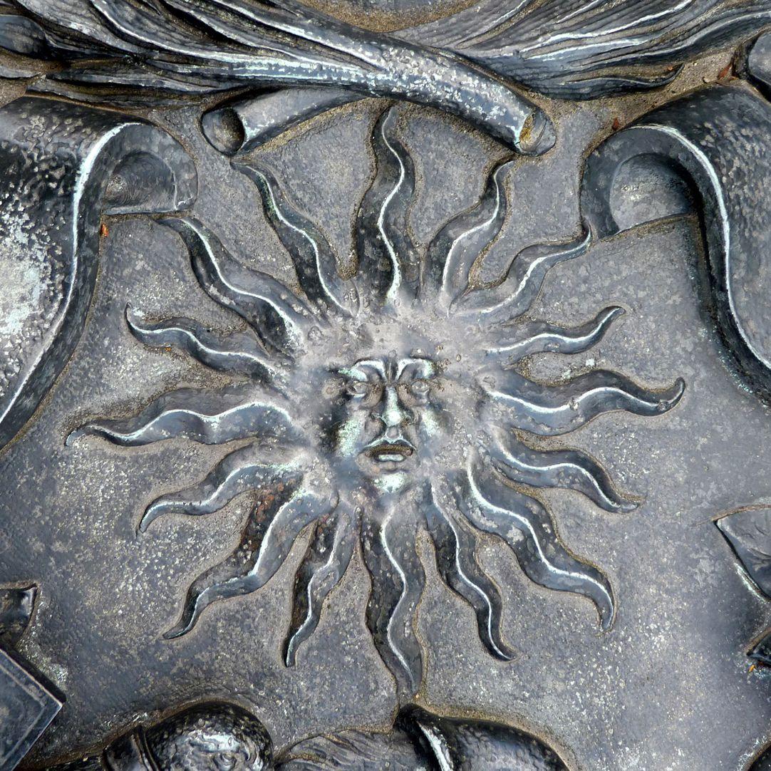 Epitaph des Andreas Georg Paumgarten mittige Sonne