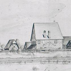 Kleingründlach mit der Obermühle