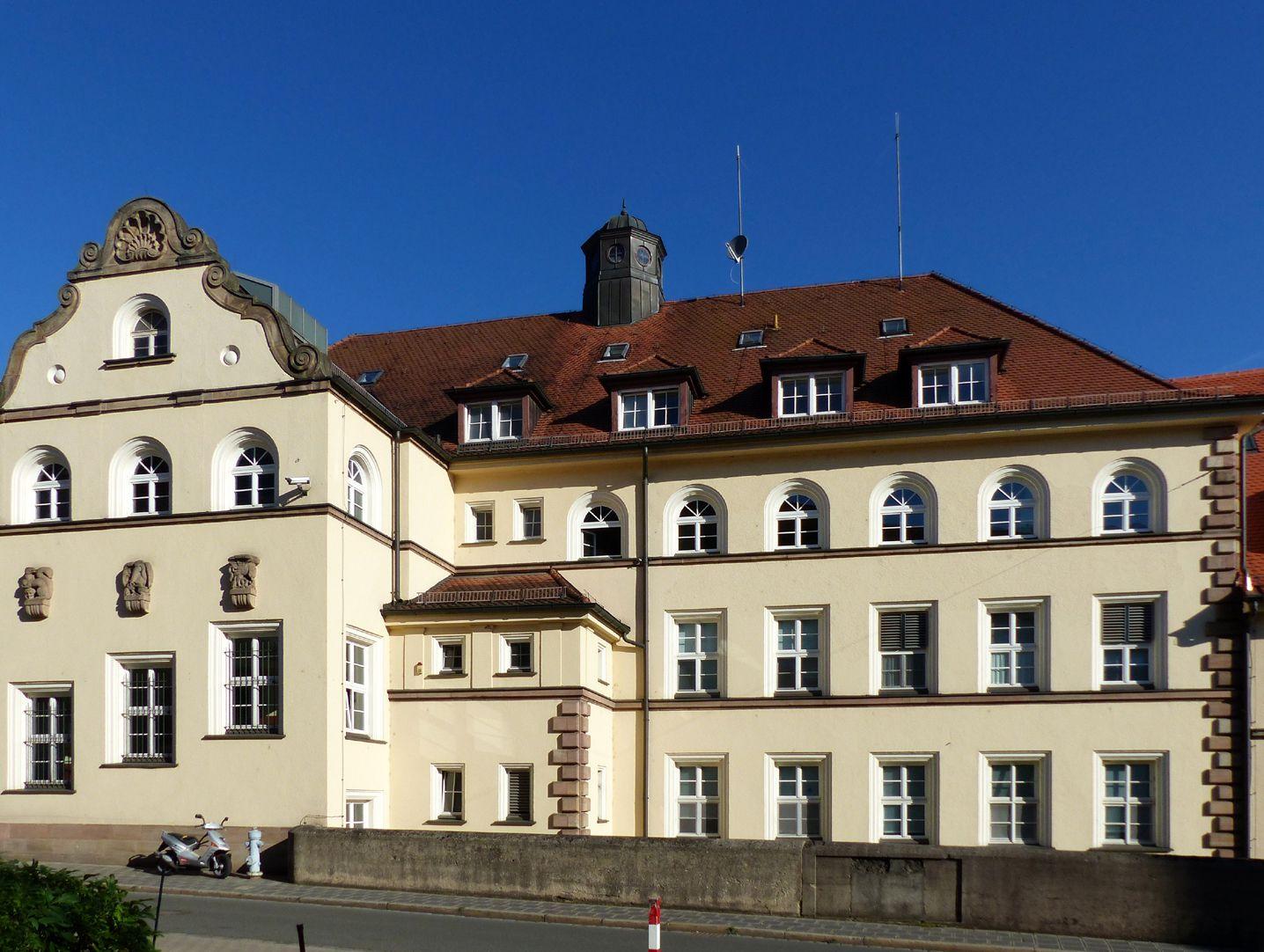ehemalige Allgemeine Ortskrankenkasse Rückfassade, Mühlgasse, Detail