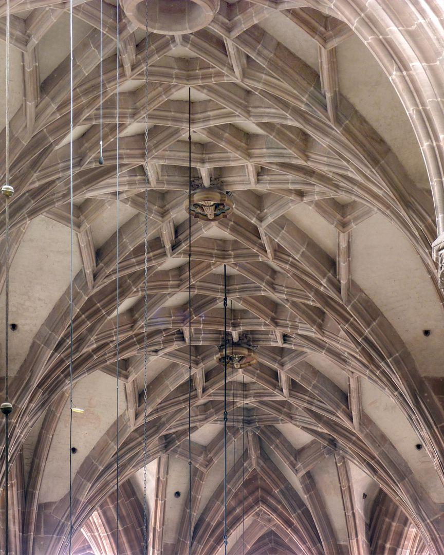 St. Lorenz, Hallenchor, Bauphase Jakob Grimm Chorgewölbe, mittleres Netz