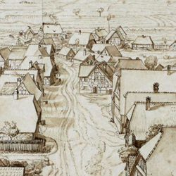Großgründlach, Ausblick vom Kirchturm nach Süden