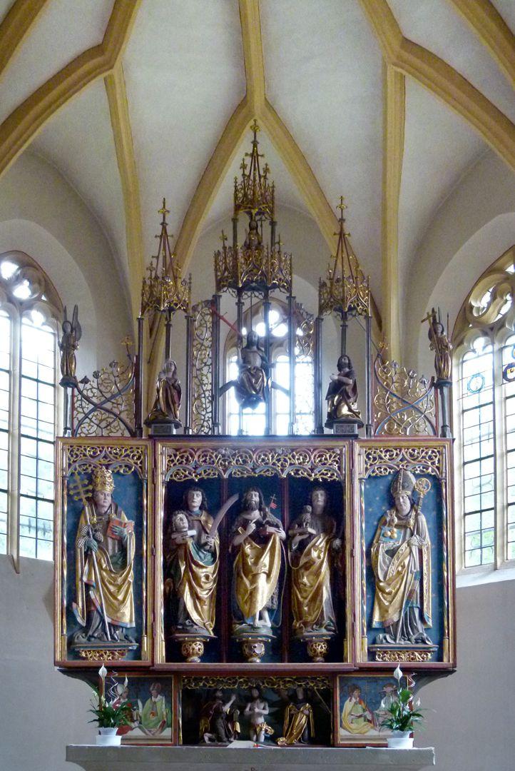 Gutenstettener Altar Chorraum, Flügelaltar