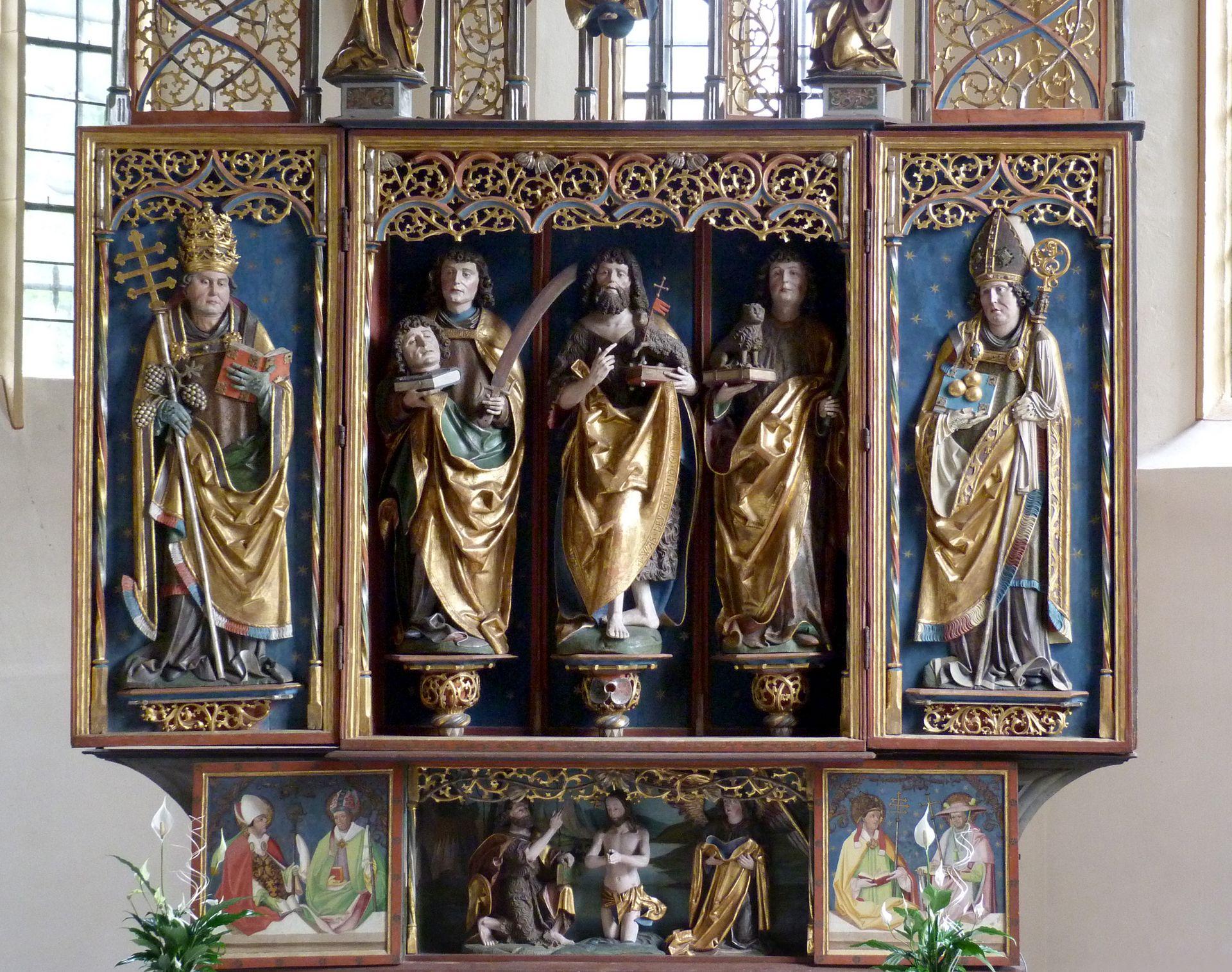 Gutenstettener Altar Altar ohne Gesprenge