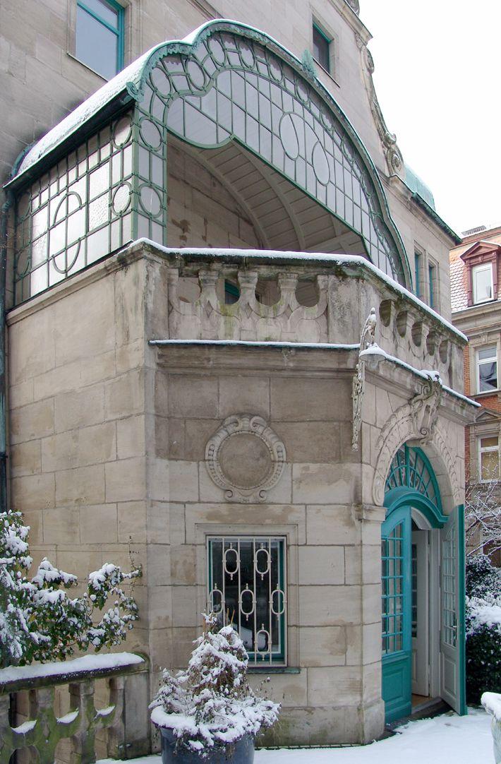 Wohnhaus, Hallerwiese Nordseite