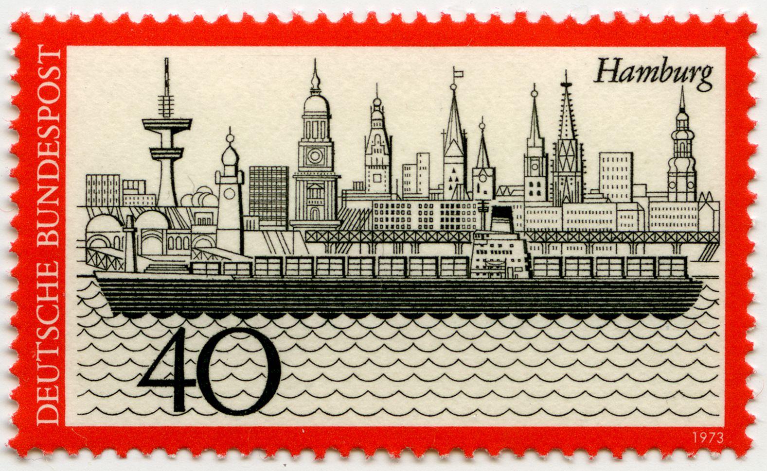 Hamburg Gesamtansicht