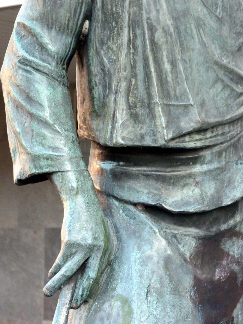 Hammermeister Detailansicht mit rechter Hand