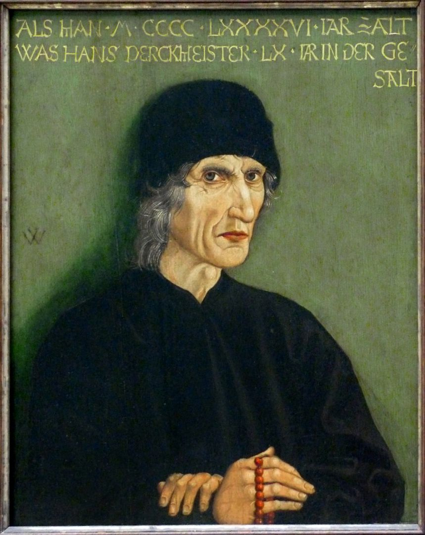 Bildnis des Nürnberger Apothekers Hans Perckmeister Gesamtansicht