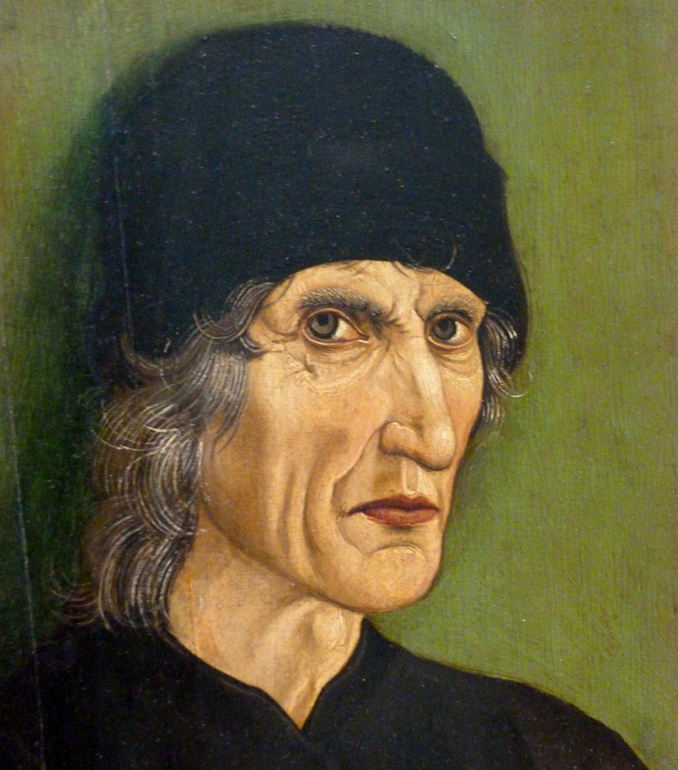 Bildnis des Nürnberger Apothekers Hans Perckmeister Gesicht
