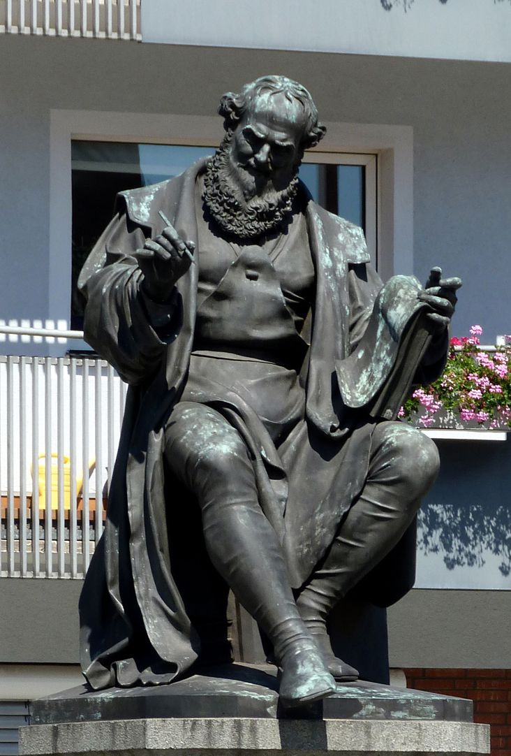 Hans Sachs Denkmal Sitzfigur