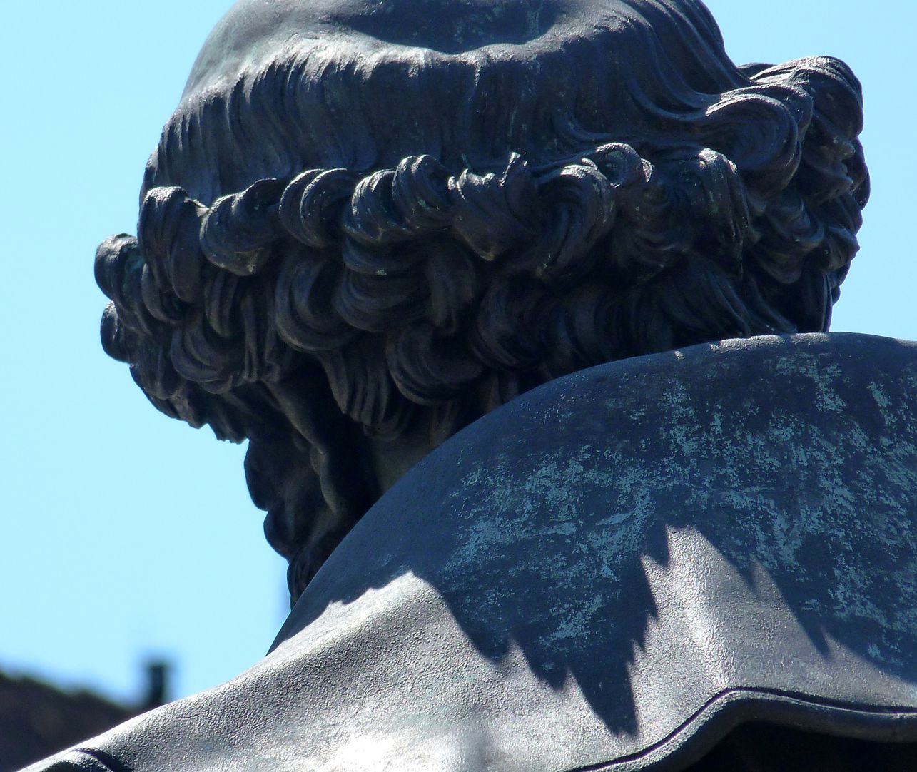 Hans Sachs Denkmal Detail