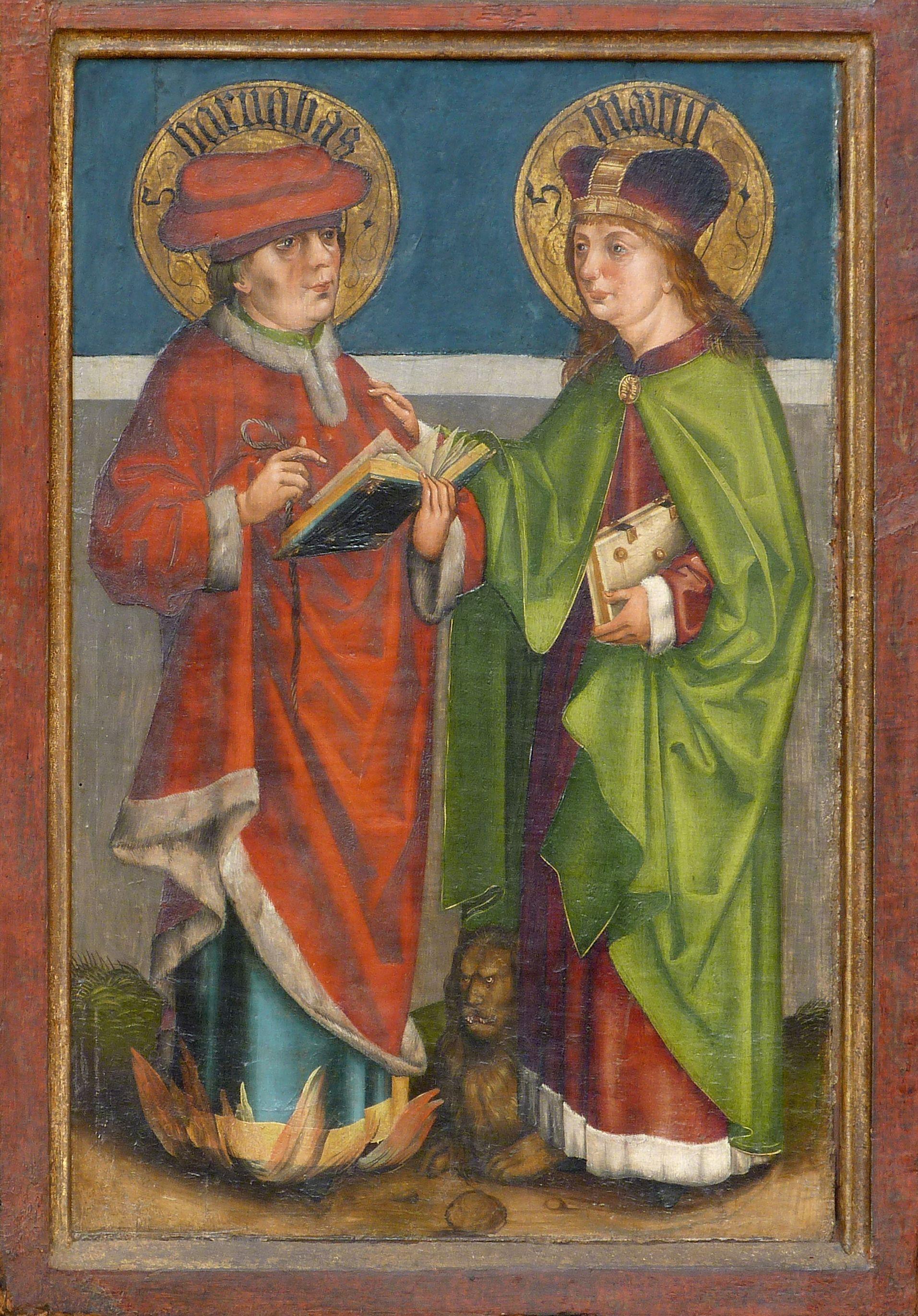 Tafeln des Harsdörffer Altars Barnabas und Markus