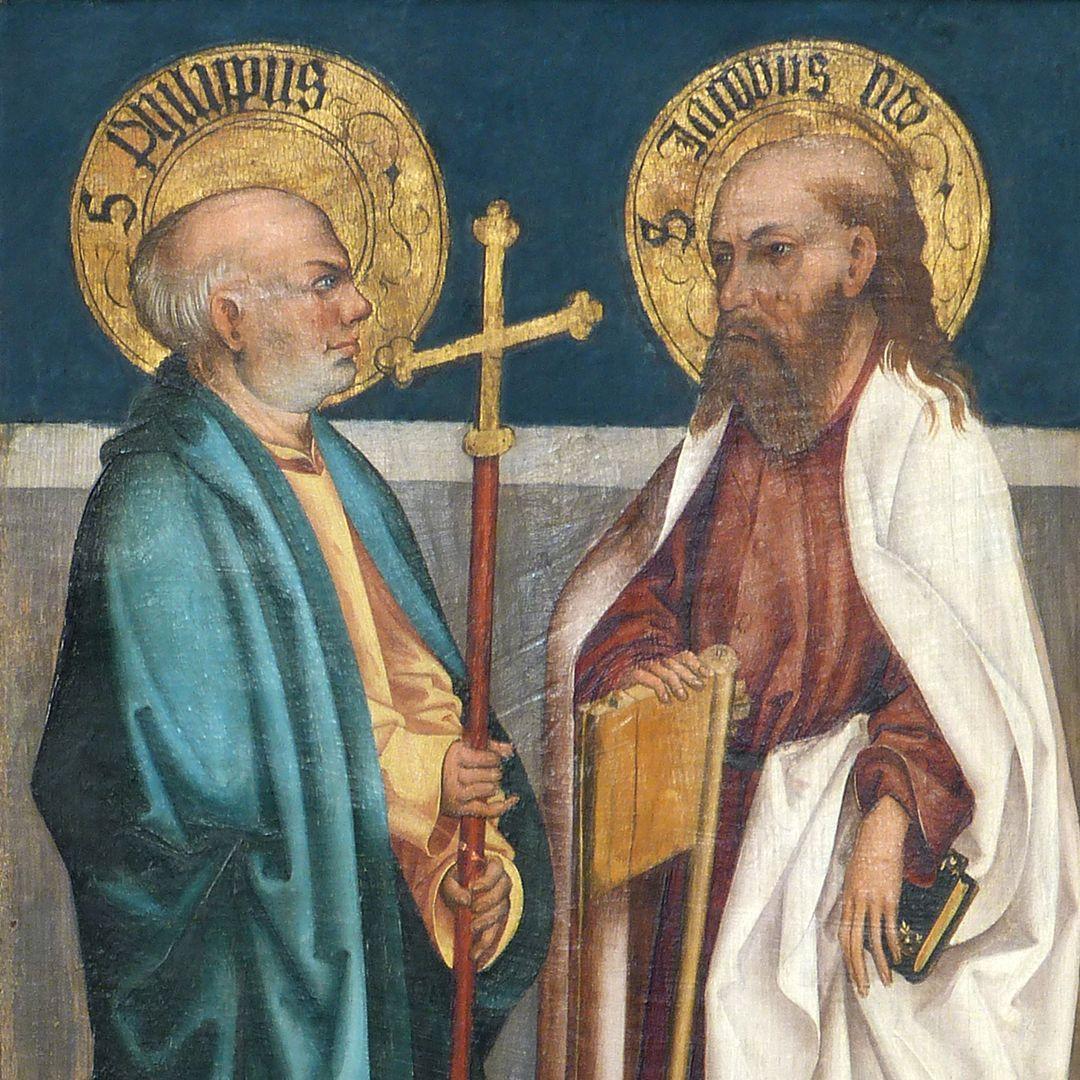 Tafeln des Harsdörffer Altars Philippus und Jacobus minor, Detail