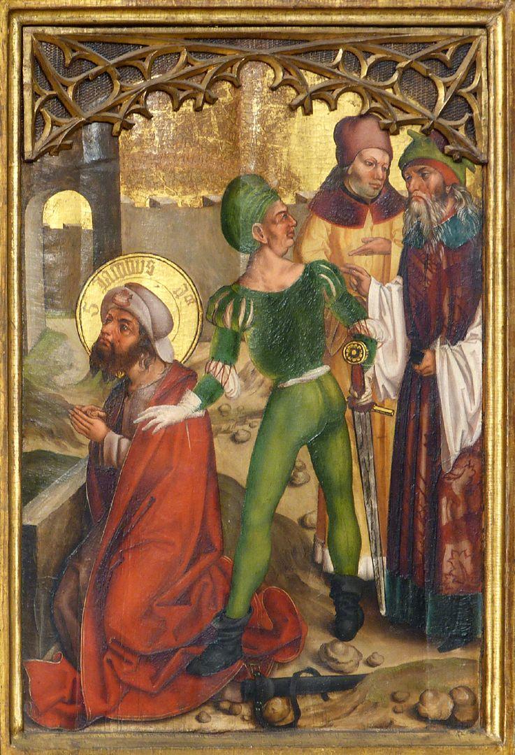 Tafeln des Harsdörffer Altars Marter des Jacobus