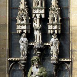 Erbärmdechristus mit Dreiergruppe (Rothenburg o.d. Tauber)