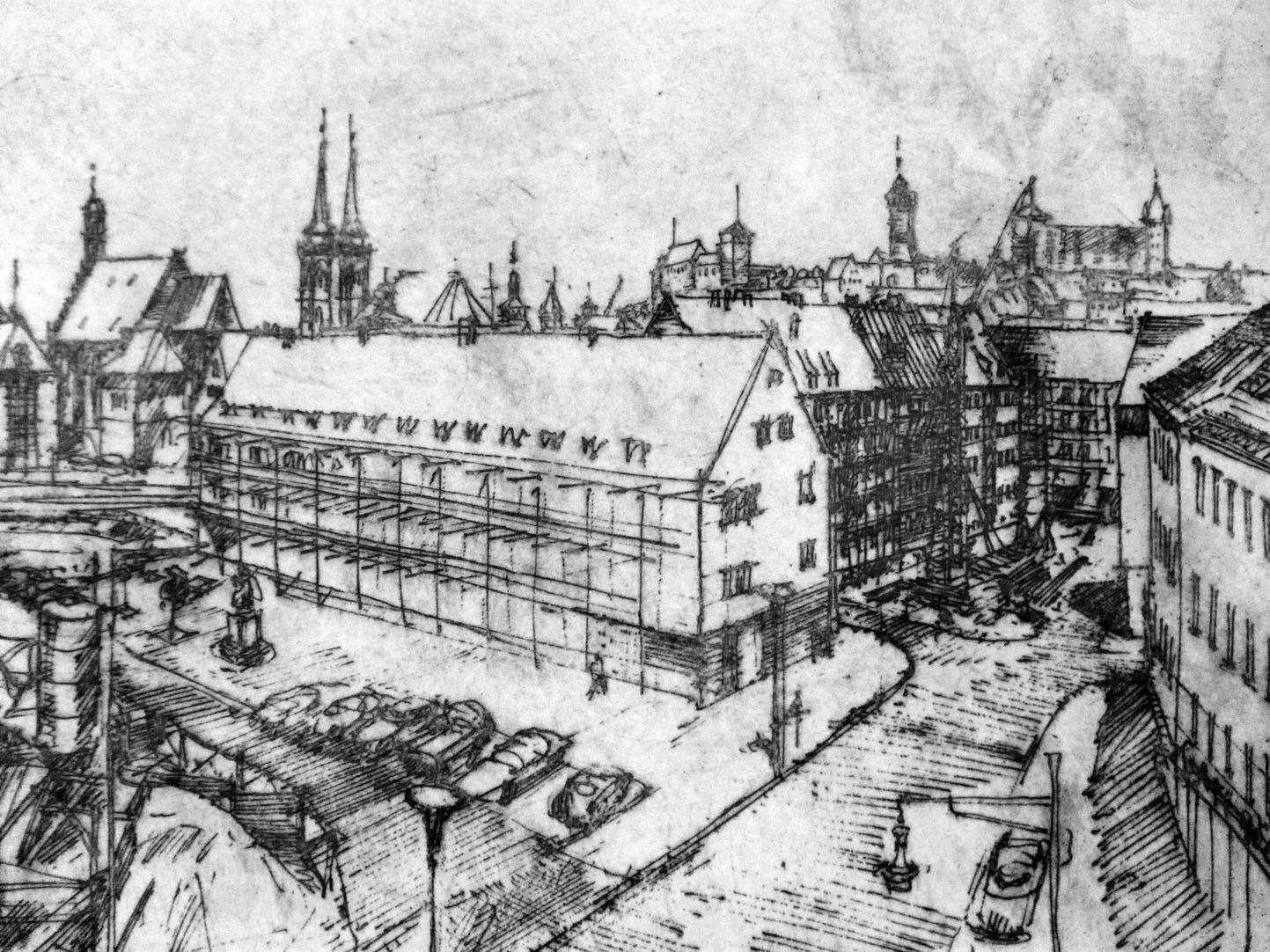 Neubau am Heilig-Geist-Spital rechtes Bilddrittel