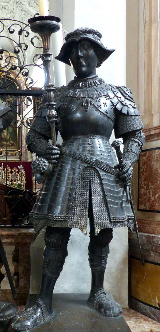 Herzog Karl der Kühne von Burgund (Innsbruck) Frontalansicht