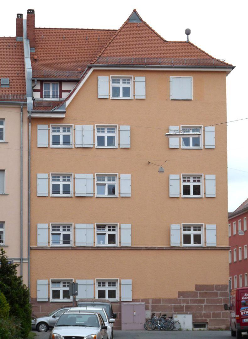 Wohnhaus, Weichselstraße 10 Fassade Helenenstraße