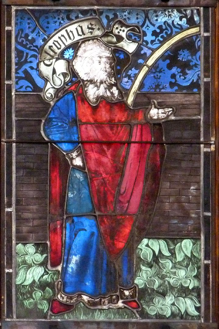 Hirschvogelfenster Heilige Sippe, Cleophas