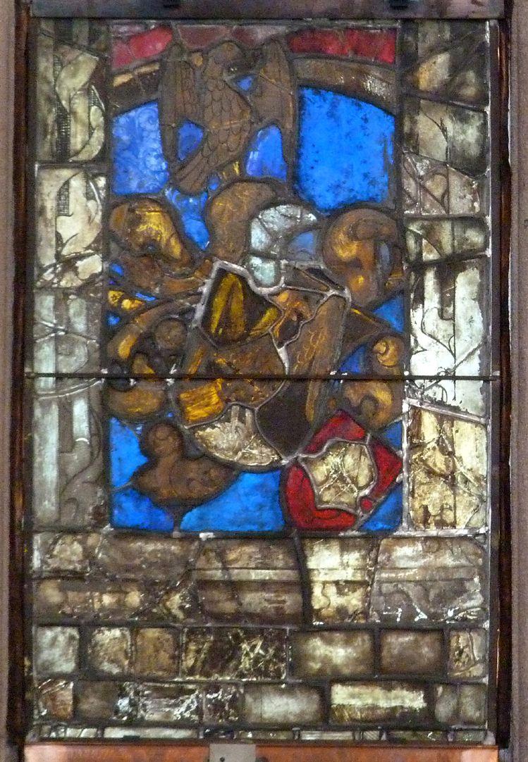 Hirschvogelfenster Fensterscheibe aus dem Hirschvogel'schen Bestand