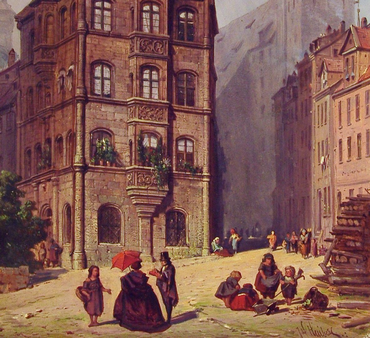 Das Toplerhaus untere Bildhälfte