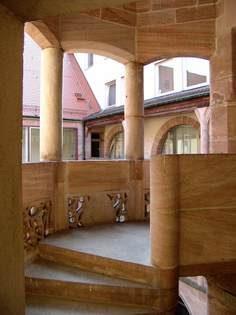 Treppen<p>Hans Behaim / 1509<br></p><p> <br></p>