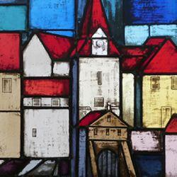 Glasfenster zur Stadtgeschichte