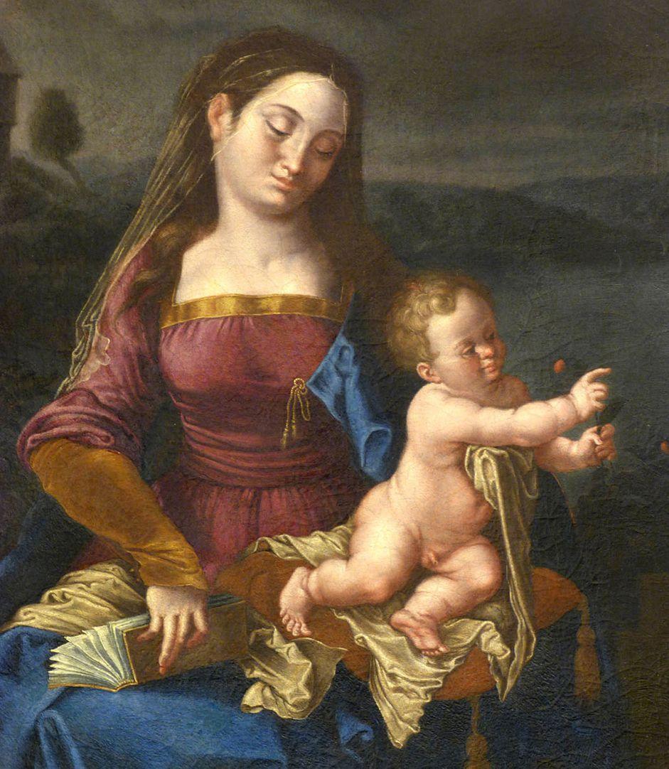 Madonna degli Animali Detailansicht