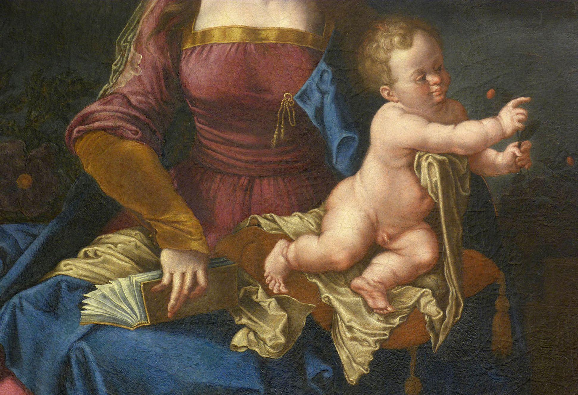 Madonna degli Animali Detail mit Jesukind