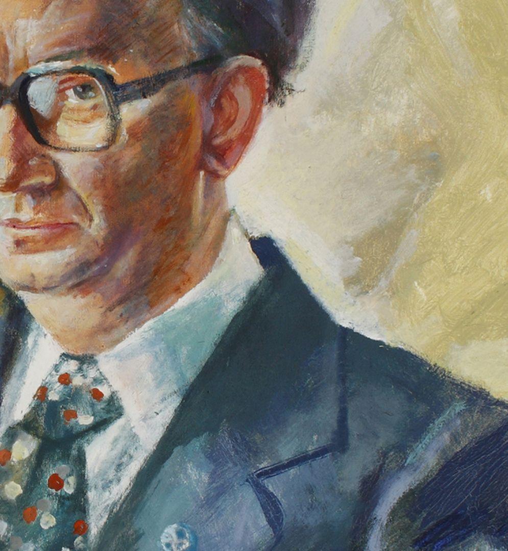 Bildnis Prof. Dr. Bernhard Ilschner Detailansicht