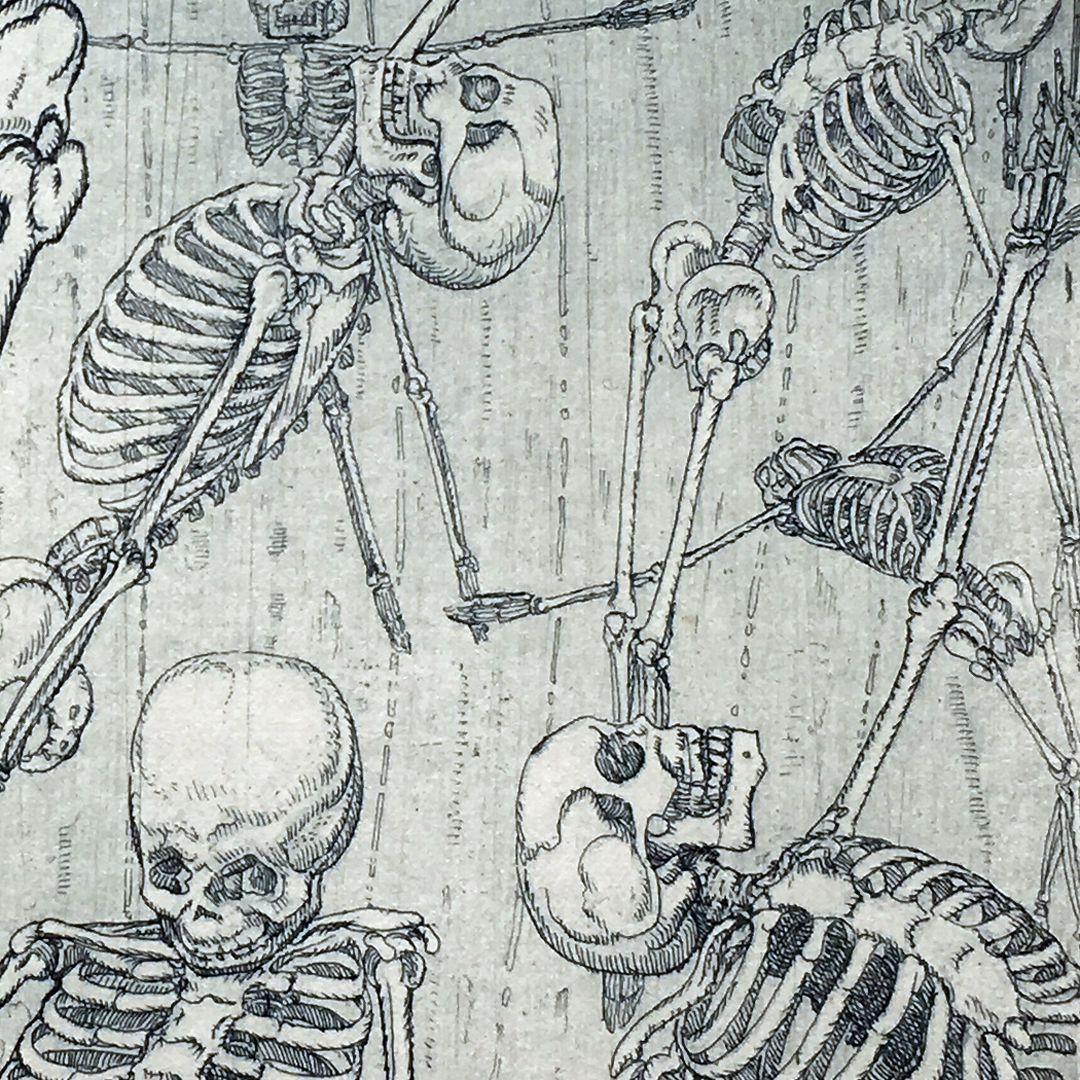 Das Sturmlied untere Bildhälfte, Detail