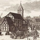 Die Schütt zu Nürnberg allwo man auch Reitschule hält