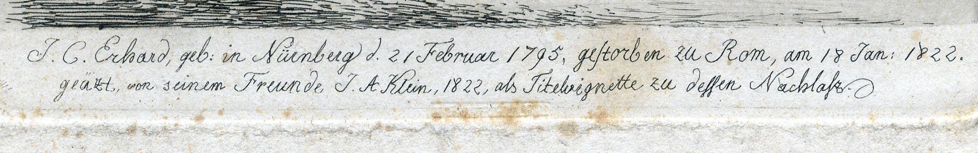 J.C. Erhard Bildunterschrift