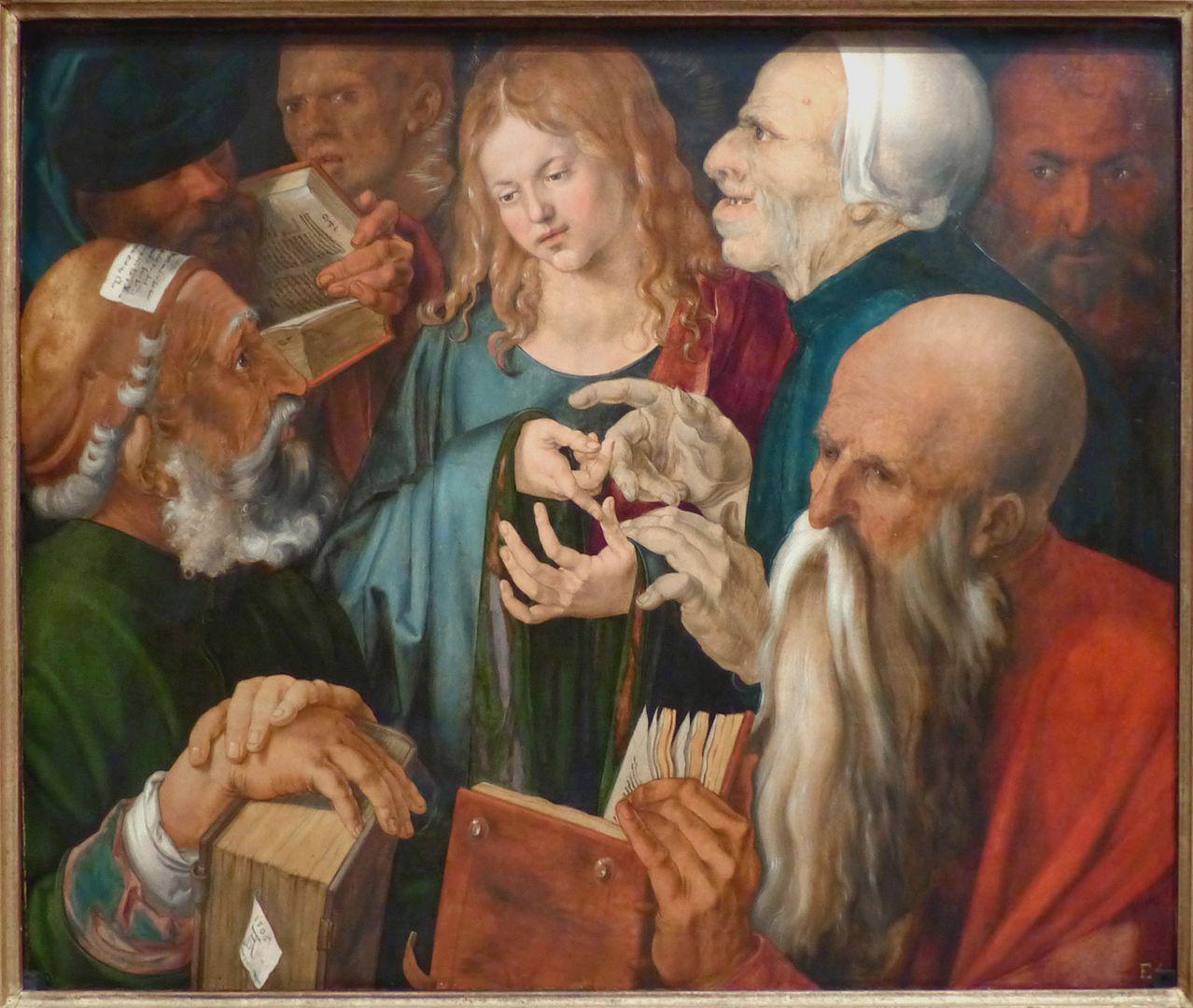 Der zwölfjährige Jesus unter den Schriftgelehrten Gesamtansicht